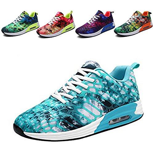 Wonvatu Women Men Breathable Fashion Running Sneakers Comfortable Lightweight Walking Athletic - Running Good