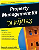 img - for Property Management Kit For Dummies (Book & CD) by Robert S. Griswold (2008-09-02) book / textbook / text book