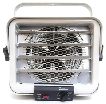 Dr. Heater DR966 240-volt Hardwired Shop Garage Commercial Heater, 3000-watt 6000-watt