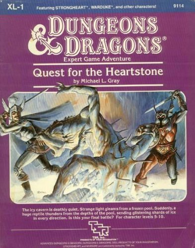 quest for the heartstone - 1