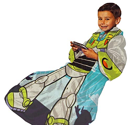 Toy Story Buzz Lightyear Real Hero Comfy Throw - The Blanket with Sleeves - New in Bag
