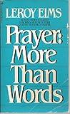 Prayer, LeRoy Eims, 0891094938