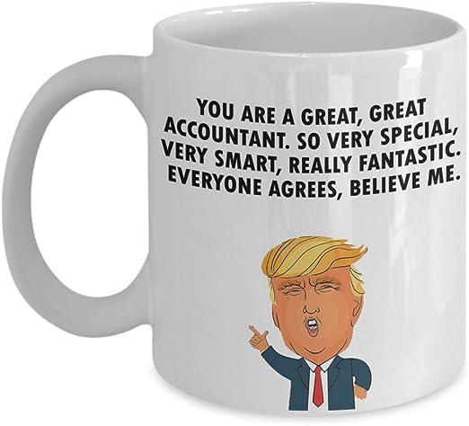 ACCOUNTANT Gift Funny Trump Mug Best Birthday Christmas Humor Profession