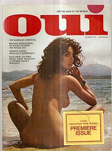 OUI [magazine], Vol. 1 [Volume], No. 1 [Number, #], October 1972, Premiere Issue