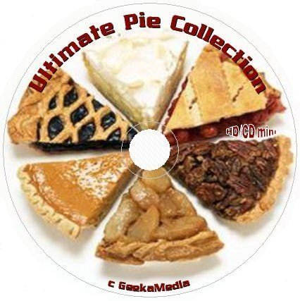 1500 All Time Favorite Pie Recipes on CD DVD cream tart fruit nut holiday pastry (Pecan Pork Chops)