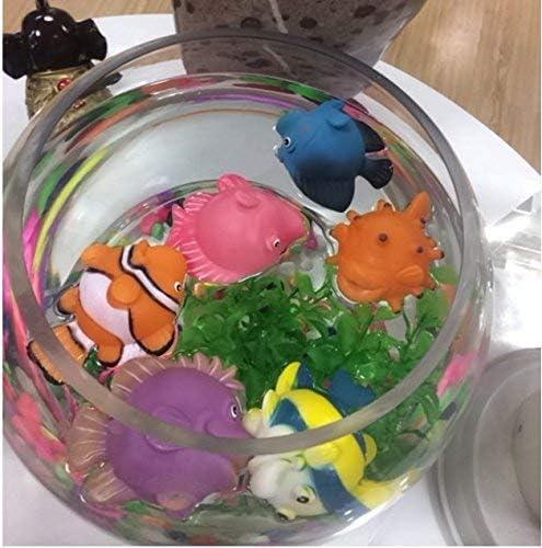 Modelos de Animales Marinos Juguetes de ba/ñera para beb/és y beb/és ... BOHS Surtido 6pcs Squirting Fish Dibujos Animados Lindo Flotante Suave
