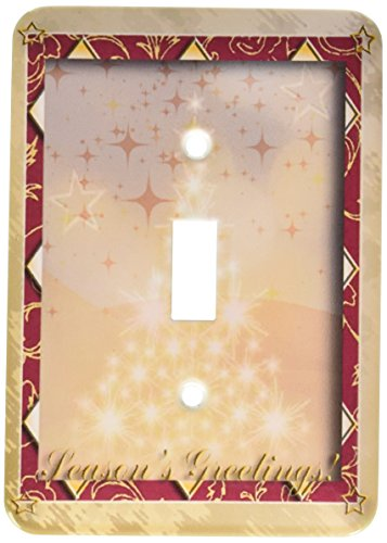 3dRose LLC lsp_24349_1 Tree of Lights Season S Greetings Single Toggle Switch