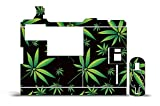 weed inhaler vaporizer - Innokin iTaste VTR Wrap Vapor Mods Skin Decal Vaporizer Sticker Vape Mod Weeds Black