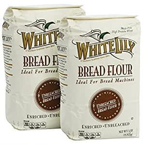Amazon.com : White Lily Bread Flour, 5-lb. bags (2-Pack