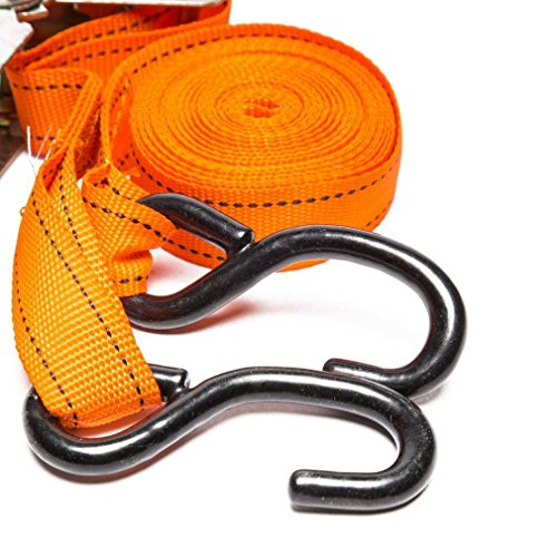 (Summit SUM-811 Ratchet Strap with S-Hook, 5 m )