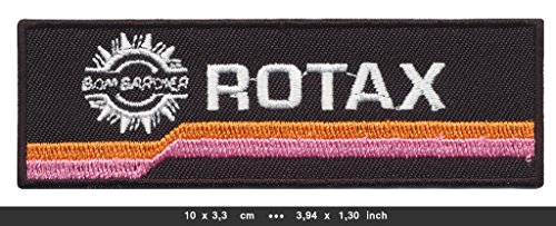 rotax-iron-sew-on-cotton-patches-brp-bombardier-motorcycles-engines-jet-skis-by-rsps-embroidery-n-de