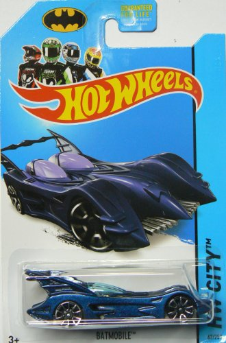 Hot Wheels 2014 HW City Batman Batmobile 75th Anniversary 62