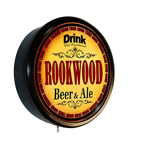 ROOKWOOD Beer and Ale Cerveza Lighted Wall Sign