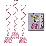It's A Girl Whirls   (5/Pkg)