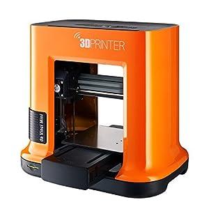 "da Vinci mini Wireless 3D Printer-6""x6""x6"" Built Volume (Includes: $14 300g PLA Filament, $49 STEAM 3D Design Tutorial eGift Card – Must Register Product, $10 Maintenance Tools, XYZmaker CAD Software)"
