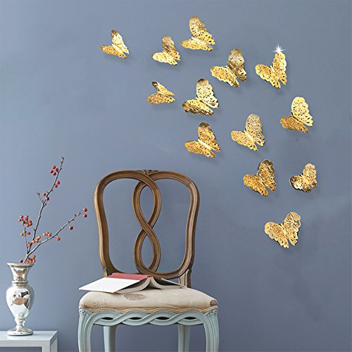 PinkBlume Butterfly Hollow out Stickers Decorations product image