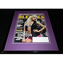 Ashlee Simpson Framed 11x14 ORIGINAL Vintage 2005 Blender Magazine Cover