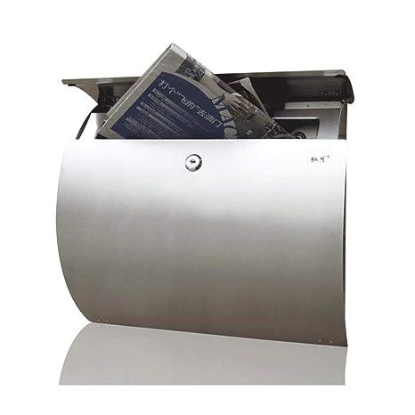 Buzón de acero inoxidable Caja de letras al aire libre Villa ...