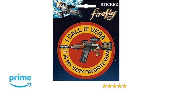 4 Full Color Sticker Ata-Boy FireflyI Call it Vera