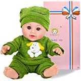 Tusalmo 12 inch baby doll (green)