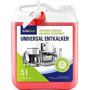 Détartrant Liquide Anticalcaire pour machine à café – 5 Litres Pour Machines à Café Automatiques