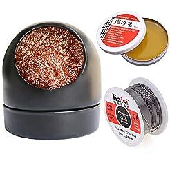 Soldering Iron Tip Cleaner + 60/40 Solde...