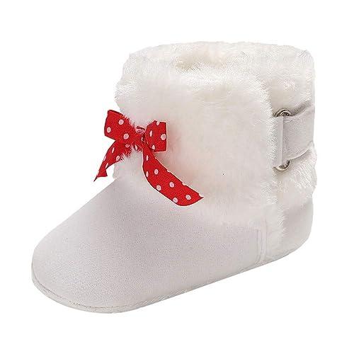 Zapatos de bebé, ASHOP Botas de Nieve Botas para bebé Zapatos niña Invierno Planos Zapatillas casa Divertidas: Amazon.es: Zapatos y complementos