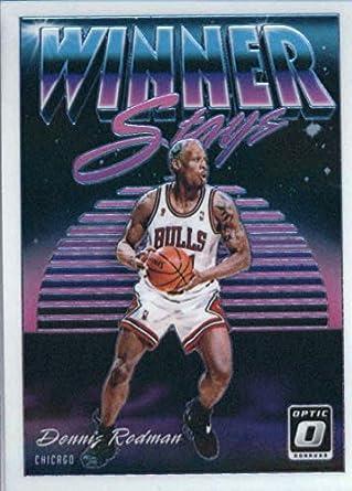 hot sales a3c3f 65c51 Amazon.com: 2018-19 Donruss Optic Winner Stays Basketball #6 ...