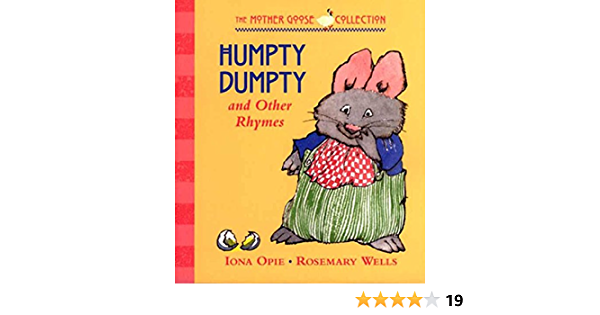Humpty Dumpty /& Other Rhymes Book Preschool Childs Kids