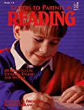Letters to Parents in Reading, Anthony D. Fredericks and Elaine Le Blanc, 0673363929