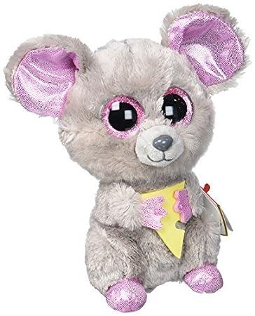 Amazon.com  Ty Beanie Boo Plush Stuffed Animal Squeaker the Mouse 6