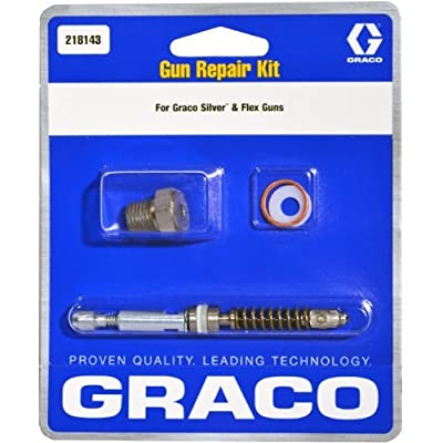 Graco 218143 Gun Repair Kit for Airless Silver Plus and Flex Paint Spray Guns: Home Improvement