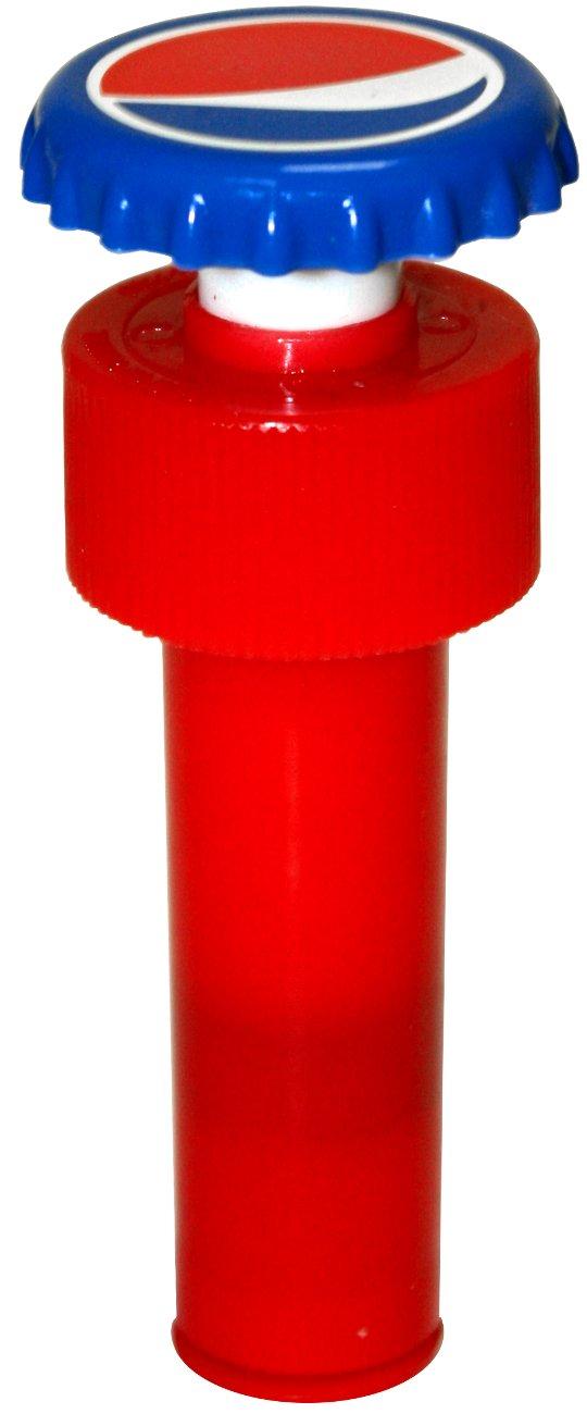 Jokari Pepsi Modern Logo Fizz Keeper Pump Cap Soda Bottle 18110P1