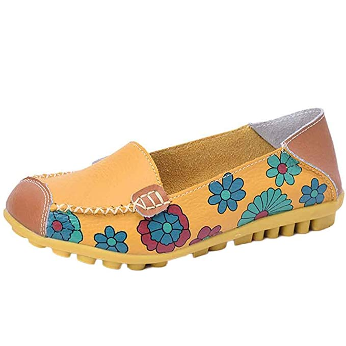 Yesmile Zapatos de mujer❤️Zapatos Zapatos de muletón de Mujer Zapatos Deportivos de Cuero Zapatos de Lona Mocasines: Amazon.es: Ropa y accesorios
