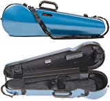 Bam France 2002XL Contoured Hightech Azure Blue 4/4 Violin Case