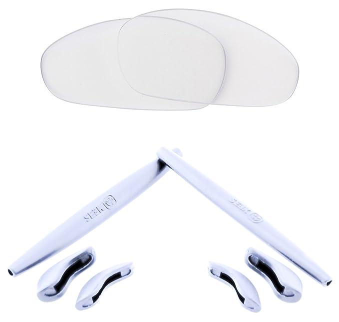 28da91aa3 Mejor Nuevo SEEK Lentes Kit de Goma para Oakley JULIET Transparente Blanco:  OAKLEY: Amazon.es: Ropa y accesorios