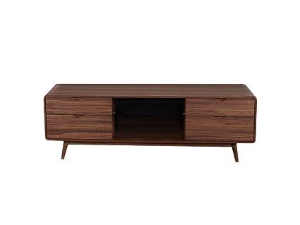Amazon Com Beverly Hills Furniture Anthrop Mid Century Tv Stand