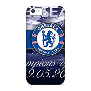 Sqk31013dtRM Phone Cases With Fashionable Look For Iphone 5c - Famous Football Club Of London Chelsea