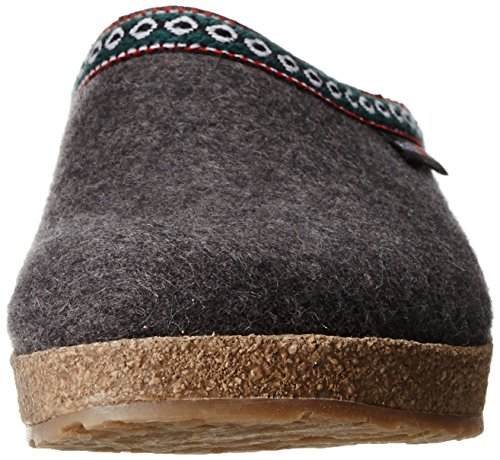 Uomini Grigio Haflinger Pantofole 4 711001 antracite zqzrt8xSn