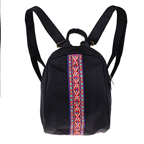 Waterproof Backpack Bag Portable Travel D DOLITY Handbag Woman Embroidered Exquisite 4WOqfHIHTn