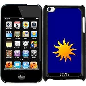 Funda para Ipod Touch 4 - Sol by hera56