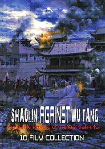 Shaolin Against Wu-Tang: 10-Film Collection (Wu Tang Dvd Collections)