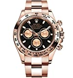 Rolex Daytona Everose Gold Watch With Black Dial Watch 116505