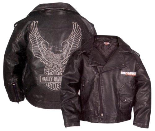 harley-davidson-boys-youth-upwing-eagle-h-dmc-biker-jacket-black