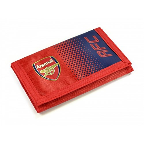 Arsenal F.c. Nylon Wallet Official Merchandise