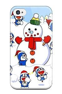 New Doraemon Tpu Case Cover, Anti-scratch SusanBurns Phone Case For Iphone 4/4s
