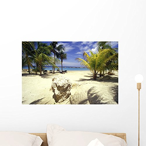 ach Hotel Curacao Wall Mural Peel and Stick Graphic (24 in W x 16 in H) WM16634 ()