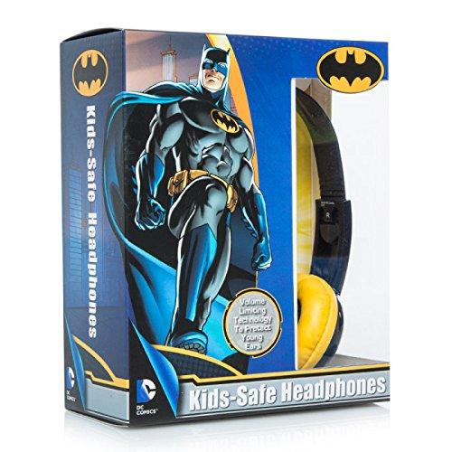 Price comparison product image Kids Toddlers Batman Kid Safe Headphones Earphones