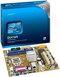 Intel DG41WV Socket T (LGA 775) Micro ATX - Placa base (1.8 V, 4 GB, Intel, Socket T (LGA 775), 10/100/1000 Mbit, micro ATX)