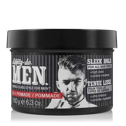 Dippity-do Men 3-1 Pomade – Men's Hair Styling Pomade 6.3 oz.